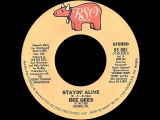 Bee Gees ~ Stayin' Alive 1977 Disco Purrfection Version