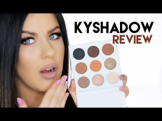 The TRUTH About The Kylie Cosmetics Kyshadow Palette | Review, Swatches EXACT Dupes!