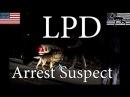 LPD Arrest Suspect / Police K9 Unit at Work