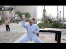 Beat It: Kung Fu master demonstrates 'ball-breaking dance