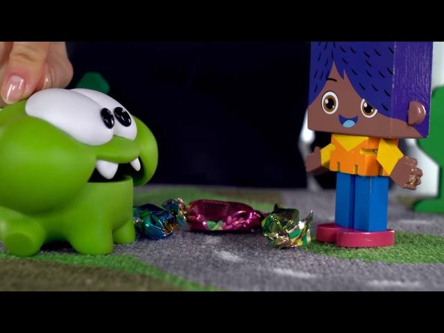Поиграйка с ЙОКО - Играем с друзьями Йоко, Ам Нямом, Кротиком, машинками Врумиз - Р...