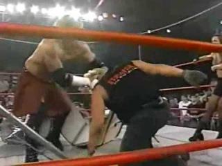 [#My1] Alexis Laree(mickie james) and Julio Dinero vs Jeff Jarrett