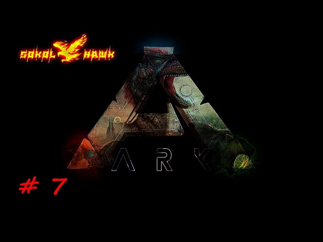 ARK Survival Evolved 7 Новая база. Альфа раптор. Аллозавр.