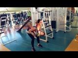 Фитнес мама. Тренировка с ребёнком 😃💪