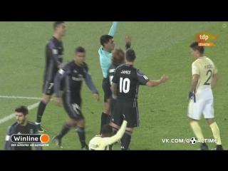 Америка - Реал Мадрид 0:2. Обзор матча. Клубный чемпионат мира-2016. 1/2 финала.