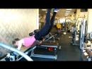 Персональный тренинг с Сергеем Ходаковским (Обратная гиперэкстензия - упражнение для ягодиц)
