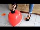 Looners Place Ba - Balloons play and high heel pop Louisa