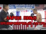 Аарон Пико (кадры тренировок)