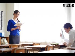 Iroha Natsume. Принуждение училки к сексу. Drama. Fem teacher was forced into the sex.