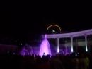Поющий цветной огневой фонтан в Кисловодске