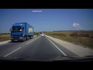 ДТП с фурой Симферополь-Феодосия.