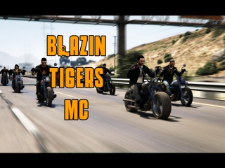 Blazin' tigers mc grand senora promo