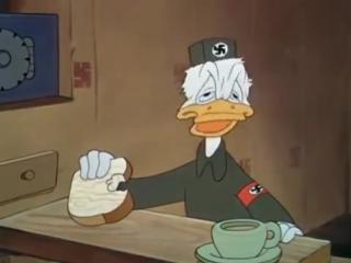 Дональд Дак в плену у Гитлера