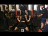 Жим лёжа Руслан Билалов 132,5 кг.