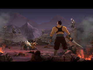 Age of Desolation 15 серия русская озвучка OVERLORDS / Пустынная эра 15 / Desolate Era / The League of Jade Sword [vk] HD