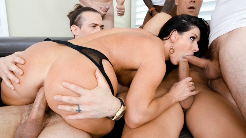 India Summer HD 1080, Natural Tits, Double Penetration, Anal, Double Penetration, Deep Throat, Gonzo, All