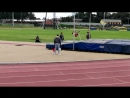 10 years, My first competition, 150m