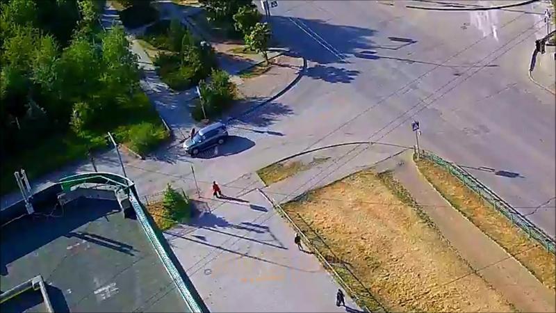 Наезд на пешехода Волжский.