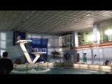 Видео со съёмок сериала  Прыжок в бассейн  Чернобыль - Зона Отчуждения
