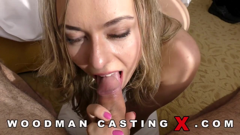 Daniella Margot [Young Nude Blonde Russian Girl Woodman Casting X]