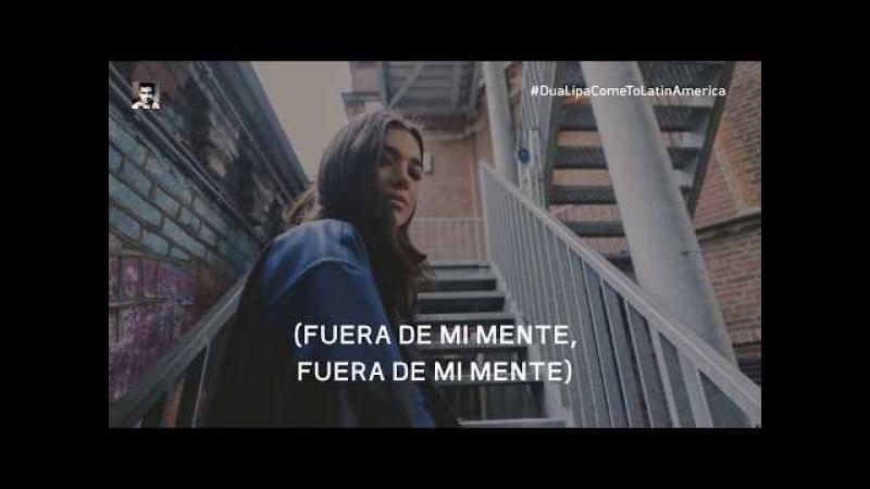 Dua Lipa - New Rules (demo letra español)