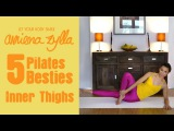 Sexy Inner Thighs - No Thigh Gap Workout! - Amiena Zylla