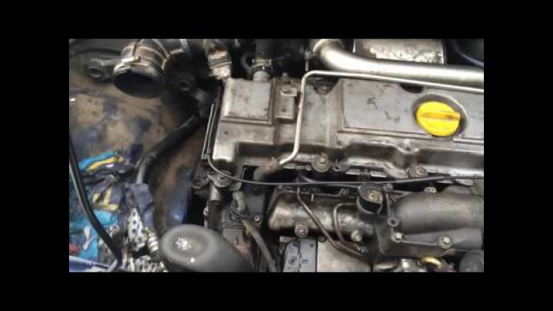 Опель фургон 2.0 DTH замена тнвд VP44 адаптация op-com car-pass carprog