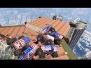 Адская дуэль либераторов на небоскребе в GTA 5 ONLINE