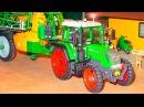 Traktor Animacje i inne Mądry Traktorek Ciężka Praca Tractors for Kids Animations