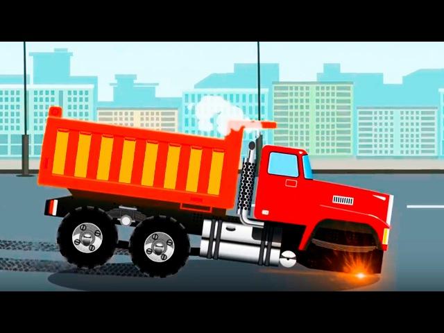 Camión y Grúa: Ciudad de Carritos compilación de camión de construcciones