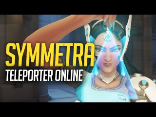 How to properly place Symmetra teleport