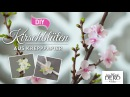 DIY Papierblüten hübsche Kirschblüten aus Krepppapier Deko Kitchen
