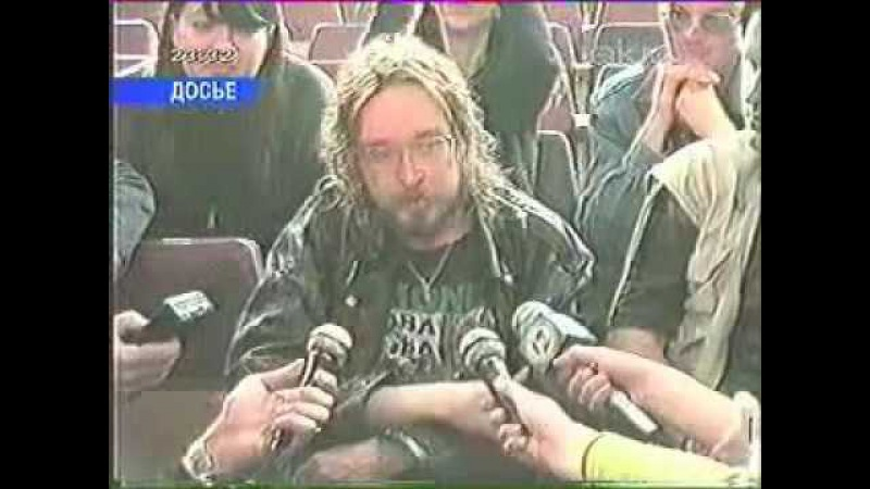 ТВ репортаж о похоронах Егора Летова Омск ТВ, 21 02 2008