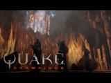 Quake Champions - видеоролик арены Burial Chamber