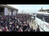 Алеппо Тысячи мирных жителей выходят из захваченных боевиками районов к Сирий ...