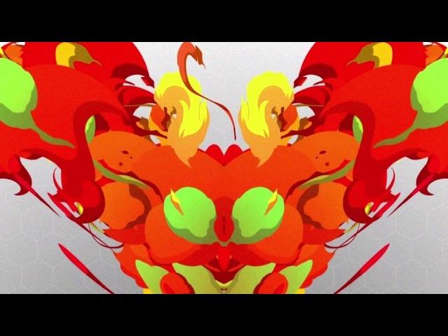 Flame Bee · coub, коуб