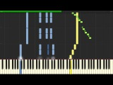 Joe Hisaishi - Howl's Moving Castle - Merry Go Round of Life (Piano Tutorial Synthesia)