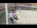 Видео инструкция монтажа ринга на упорах BORKOVER