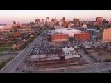 Строительство Little Caesars Arena, г. Детройт, США (06.2017)