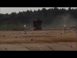 Танковый биатлон - Дрифт с переворотом!