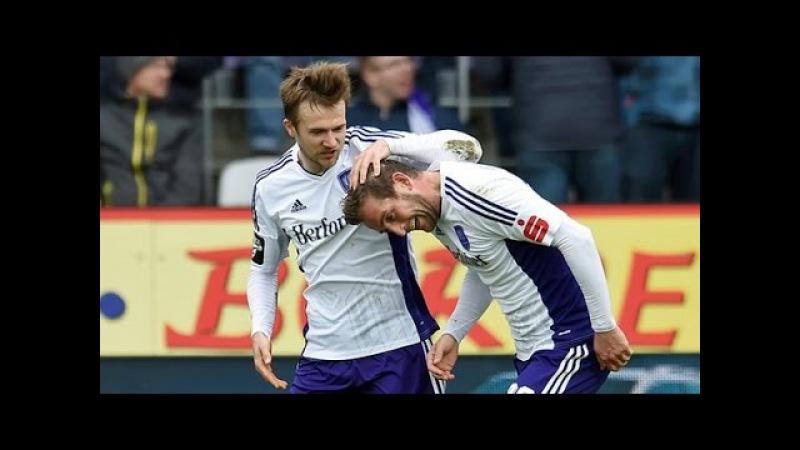 Kazakh player Engel vs Aalen goals passes.