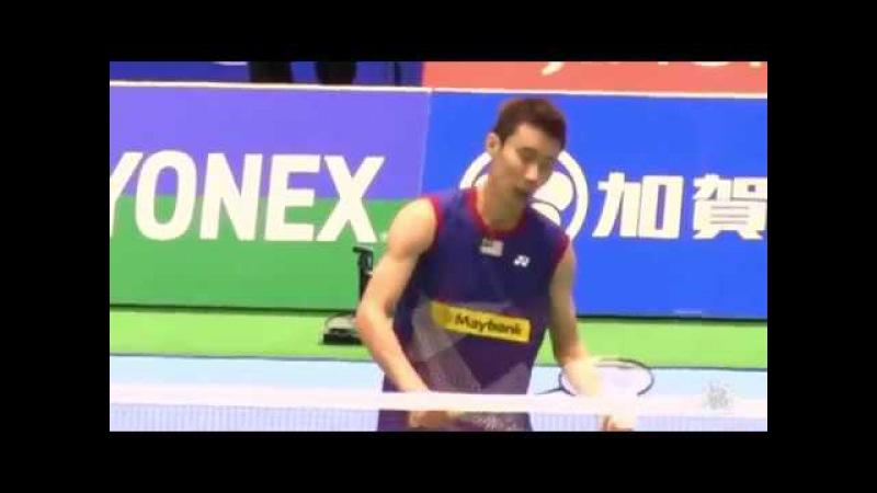 Nice Camera Highlights Badminton Lee Chong Wei v s Kenichi Tago