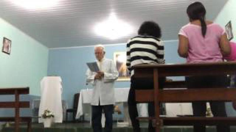 Capela da Divina Misericórdia: Celebração da Palavra. Sobradinho, DF, Brasil. IMG_3385. 04jul15
