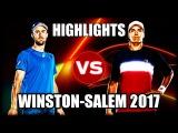 Steve Johnson vs Carlos Berlocq WINSTON-SALEM 2017 Highlights