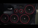 Lada Granta team Ural Sound калитки на эстраде серии Decibel