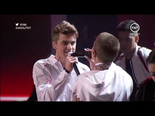 The Chainsmokers Halsey - Closer (American Music Awards 2016)