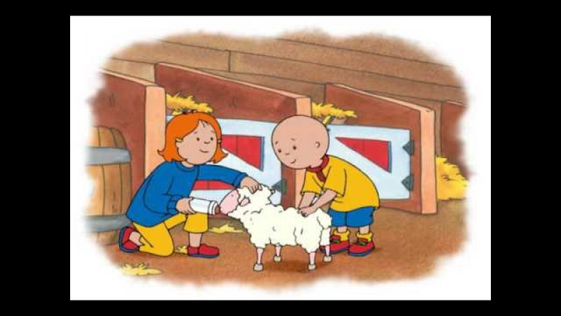 ᴴᴰ BEST ✓ Caillou - Caillou Elephants! | Caillou the Sheep | Caillou the Puppies | (S03E03) NEW