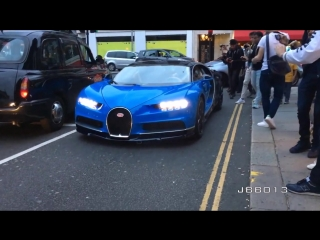 CoD | Arab Bugatti Chiron SOUND - Start up and Driving in London