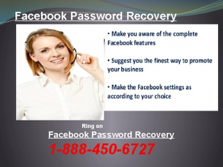 Is Facebook Password Recovery 1-888-450-6727a Toll-Free Facility?