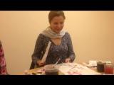 Видео-отзыв Оксаны Афанасьевой, 3 занятие. Сакура